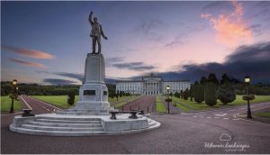 Ulster Unionism's founding hero Sir Edward Carson guides the way to Stormont